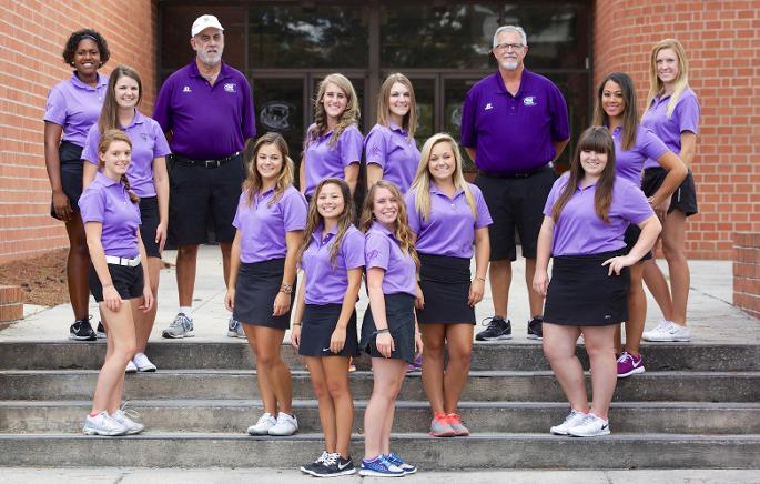 Golf Sets School Records at AAC Direct Qualifier