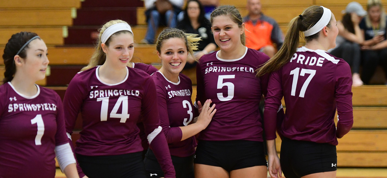 Women's Volleyball Sweeps Westfield State and Rivier In Springfield College Invitational