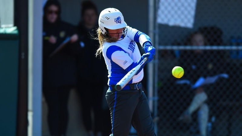 McNulla, Camara Go Yard, Softball Splits Doubleheader with Boston U