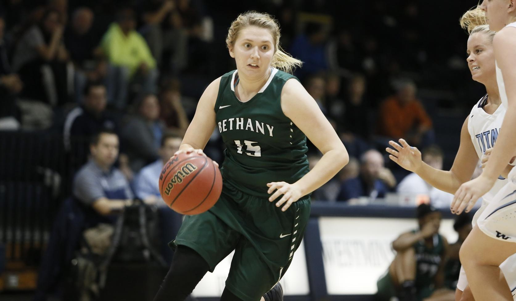 Bethany Handed 76-51 loss on the Road to Carnegie Mellon