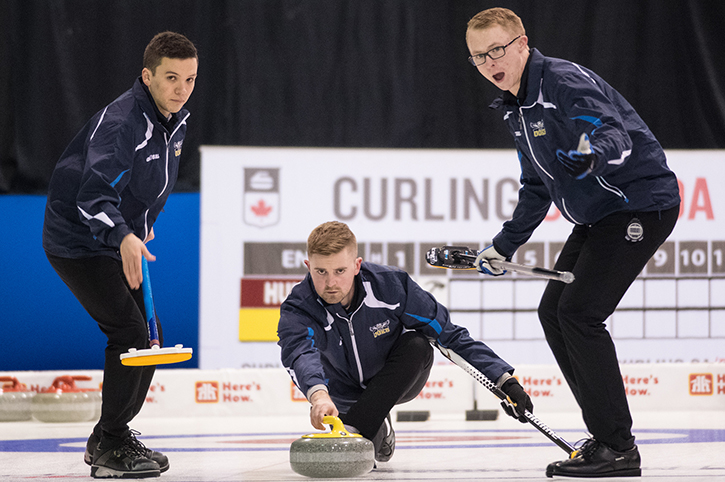 Day One from the 2019 CCAA/Curling Canada Championships in Fredericton