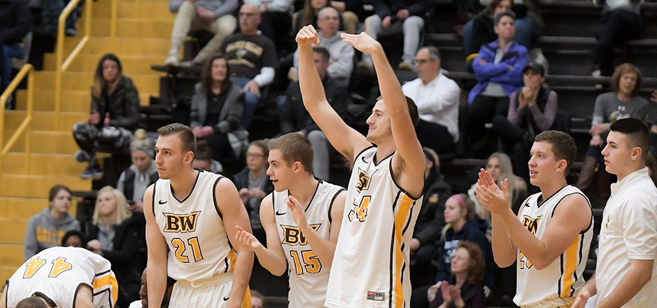Men's Basketball Shoots for Top of the OAC