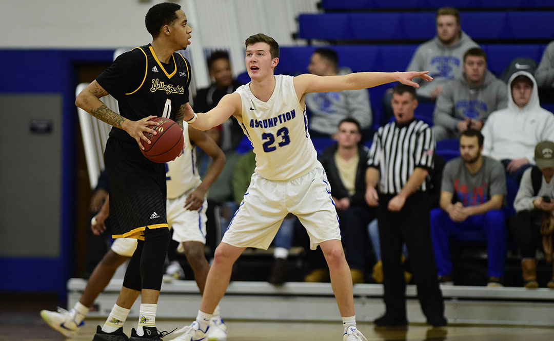 Southern N.H. Edges Men's Basketball 79-75
