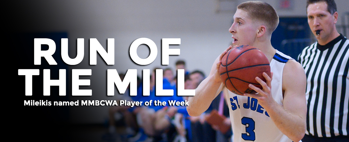 Mileikis Named MMBCWA Player of the Week