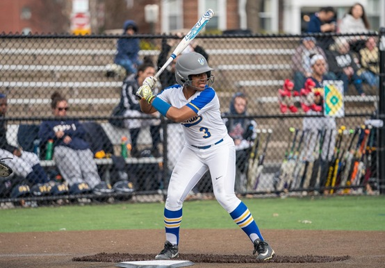 SOFTBALL WINS NINTH STRAIGHT WITH GNAC SWEEP OVER RIVIER