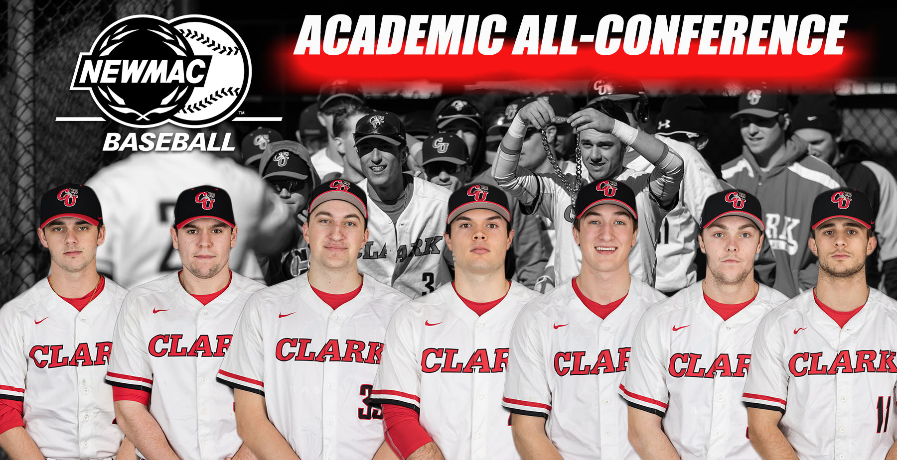 Baseball Places Seven on NEWMAC Academic All-Conference Team