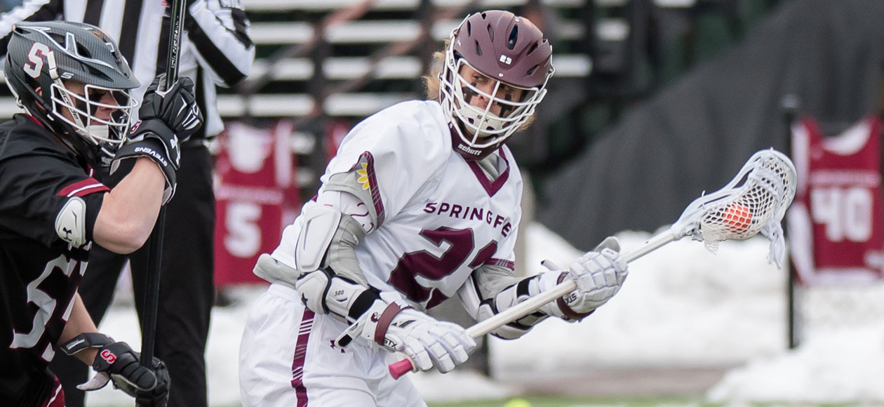 No. 2 Amherst Takes Down Men's Lacrosse, 22-8