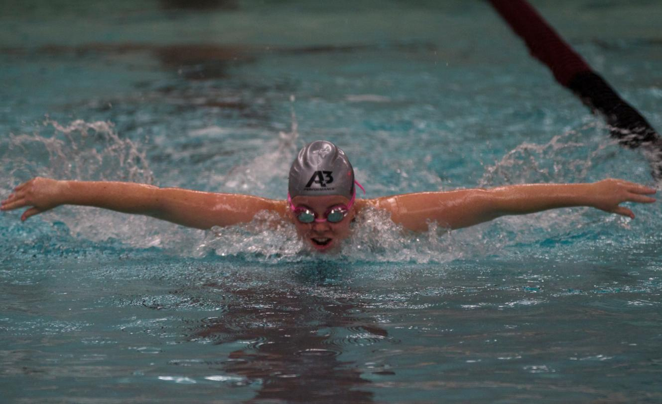 Swimming and Diving competed in MIAA Relays at Calvin College