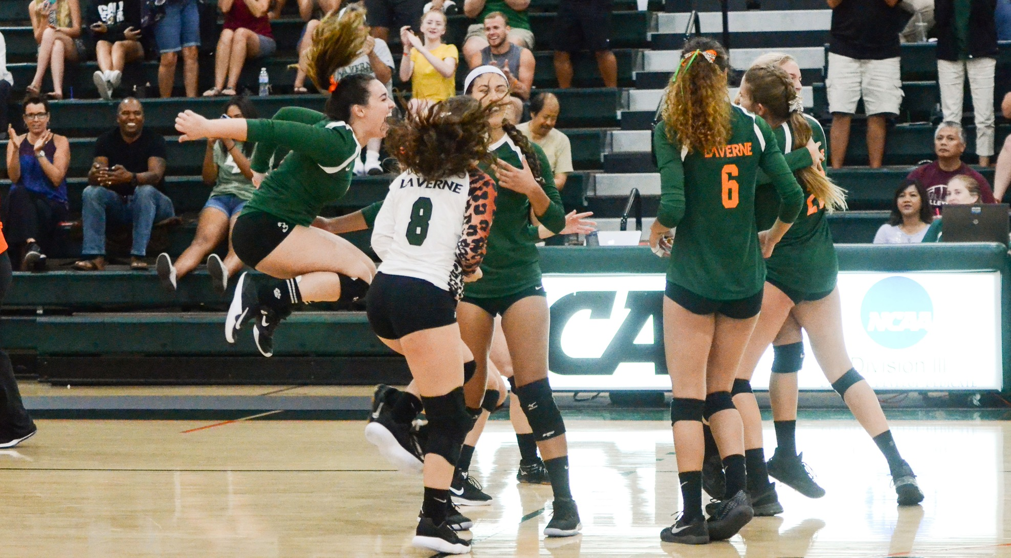 No. 15 Leopards rally to beat No. 17 Cal Lutheran in five sets