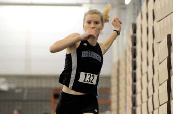 Indoor track and field teams open season at Northeastern