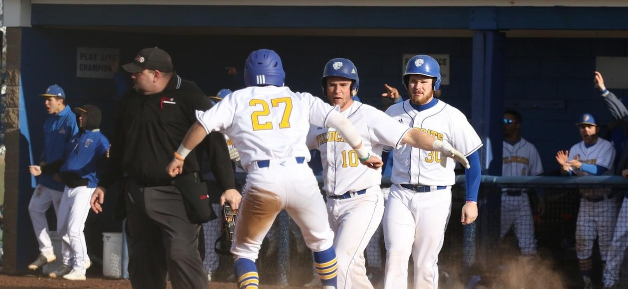 Baseball Starts 2020 with 9-5 Win Over Eagles