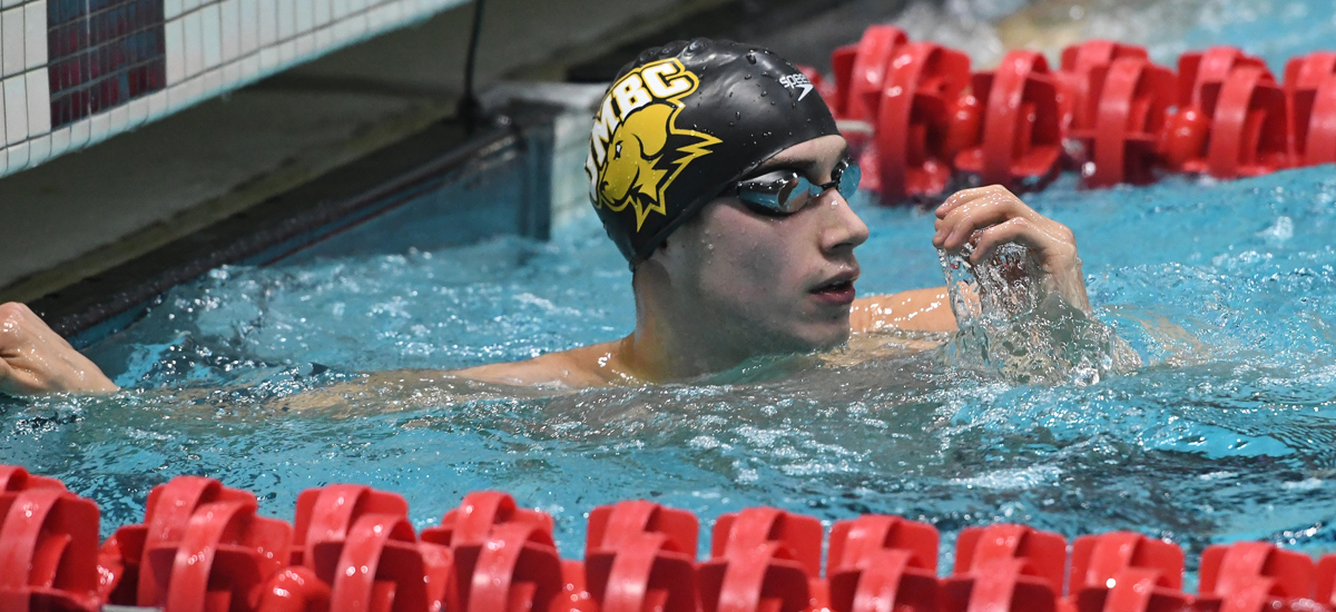 Trajkovic, Spoerlein Lead UMBC Swimming and Diving on Day Two of CCSA Championships