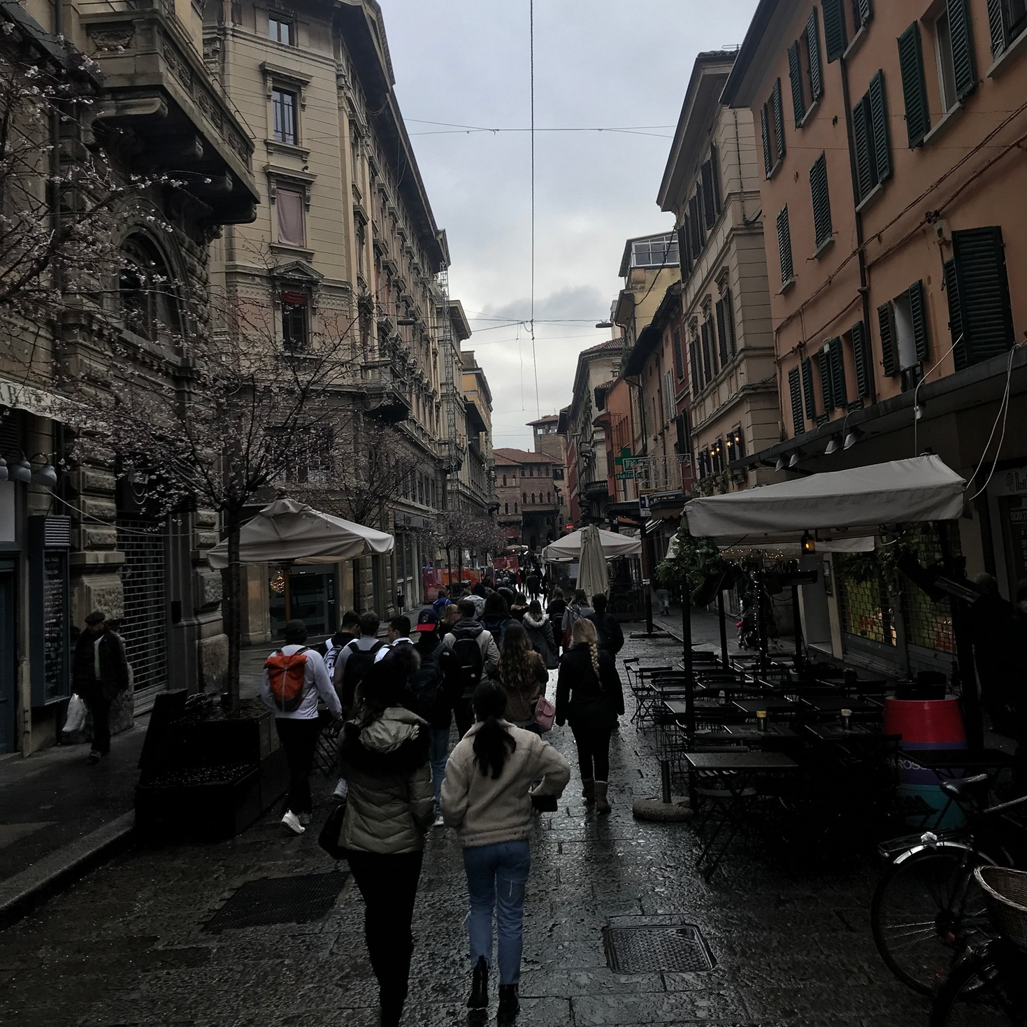 Street-level, Bologna, Italy