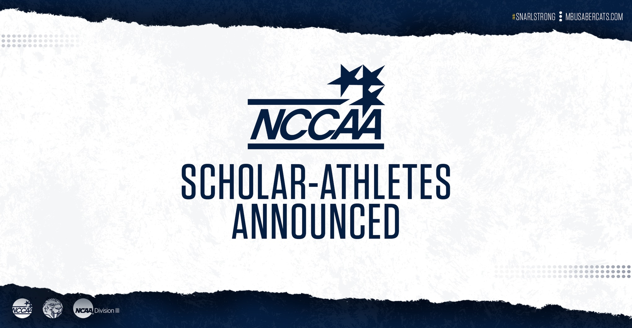 NCCAA Scholar-Athletes Recognized