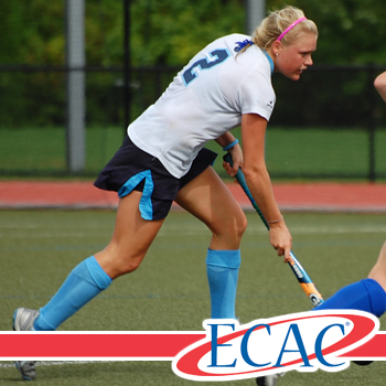 Robertson's Heroics Lift Field Hockey Past University of New England in ECAC Semifinals