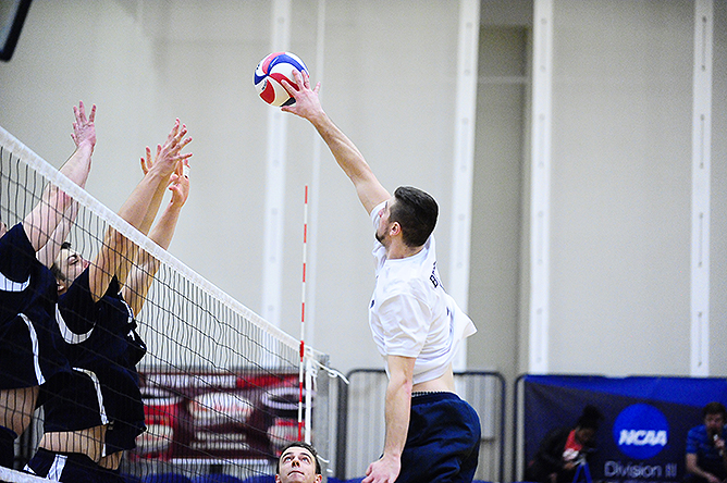Men's Volleyball Defeats CCNY