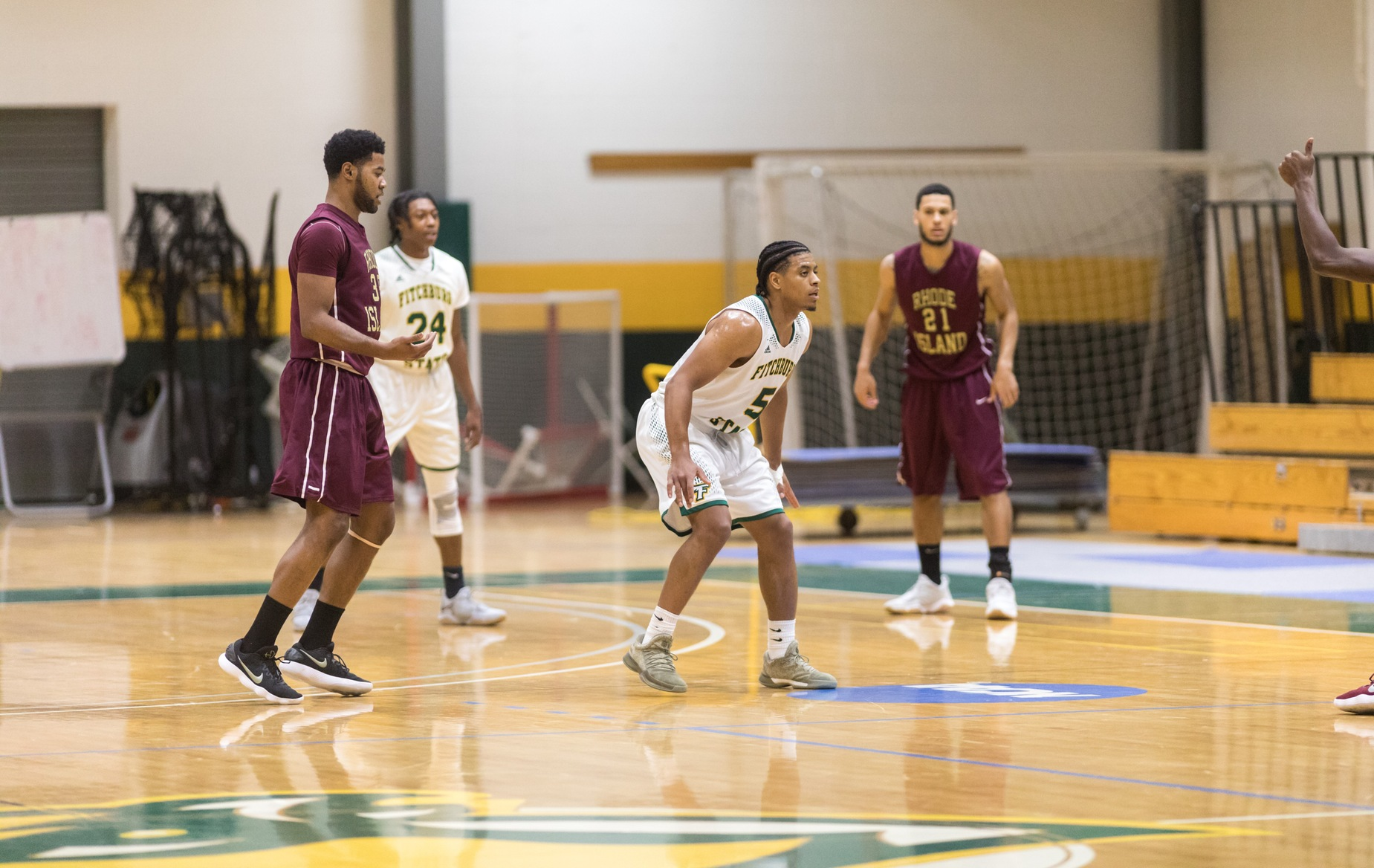 Falcons Upended  By Rams, 64-56