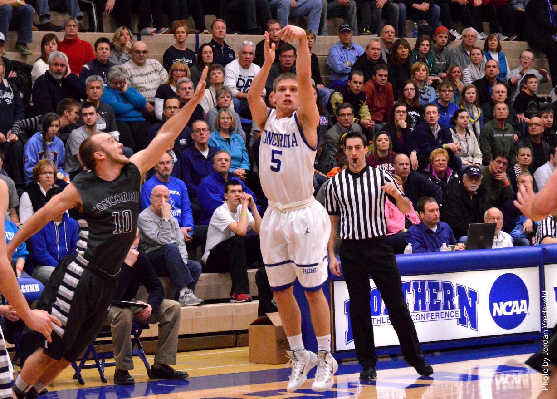 Men's Basketball vs. Concordia University Nebraska (Jan. 25, 2014