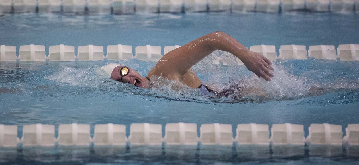 Women's Swimming and Diving Takes On Day Two of Ithaca College Invitational
