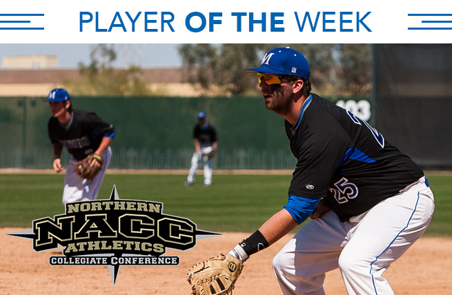 Langley Named NACC Player of the Week