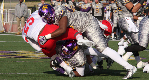 Golden Eagle defense gets shutout, ground game keys 34-0 OVC victory