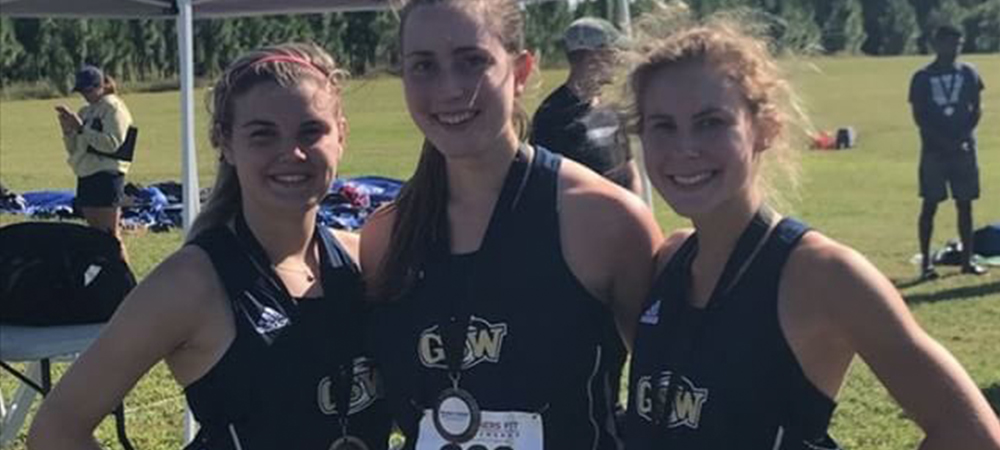 Owens Leads Cross Country to Third Place at MGA Invitational