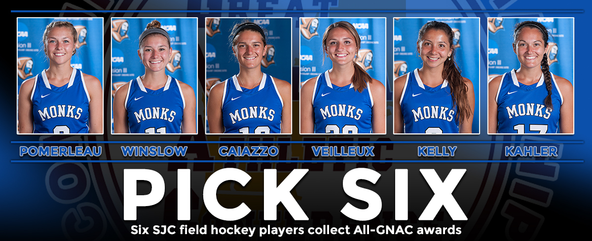 Six SJC Field Hockey Players Collect All-GNAC Awards