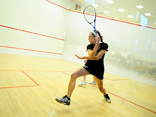 Women's squash closes out first-semester slate at Johns Hopkins