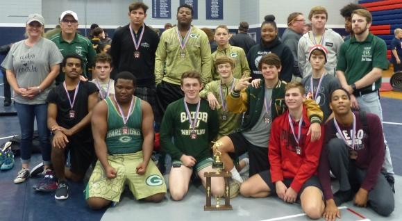 Ware Wrestlers Take Second Place
