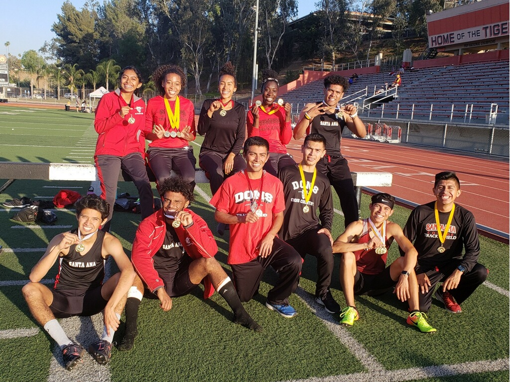 Santa Ana Collects 16 Total Medals in OEC Finals, 11 Dons Qualify for SoCal Regionals