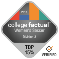 Salem College is a Top Ranked School for Division 3 Women's Soccer in 2018 National Student-Athlete Rankings