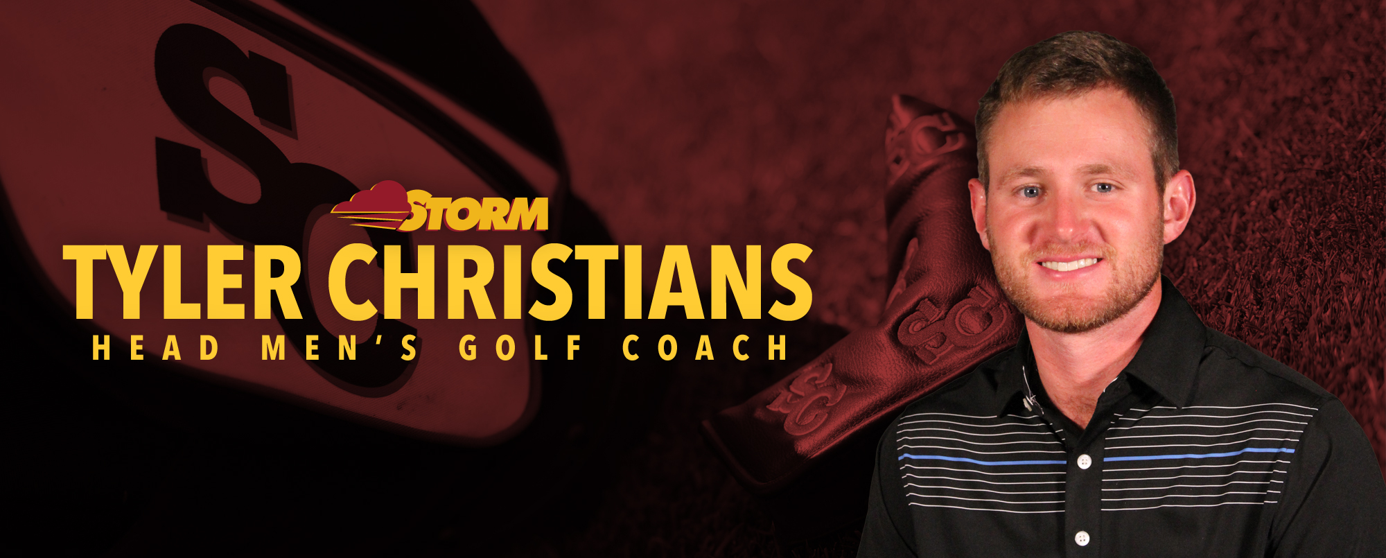 Tyler Christians has been hired as head men's golf coach.