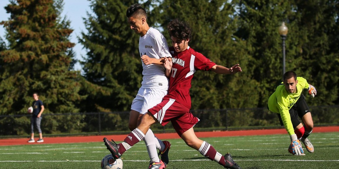 Albertus Magnus Edges Men's Soccer, 2-1, in GNAC Debut