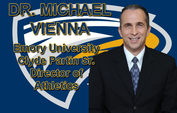 Emory Names Michael Vienna Director Of Athletics