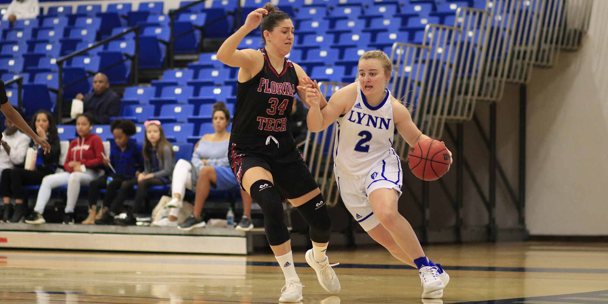 Women's Basketball Completes Season Sweep of Florida Tech Behind Webb's Five Threes