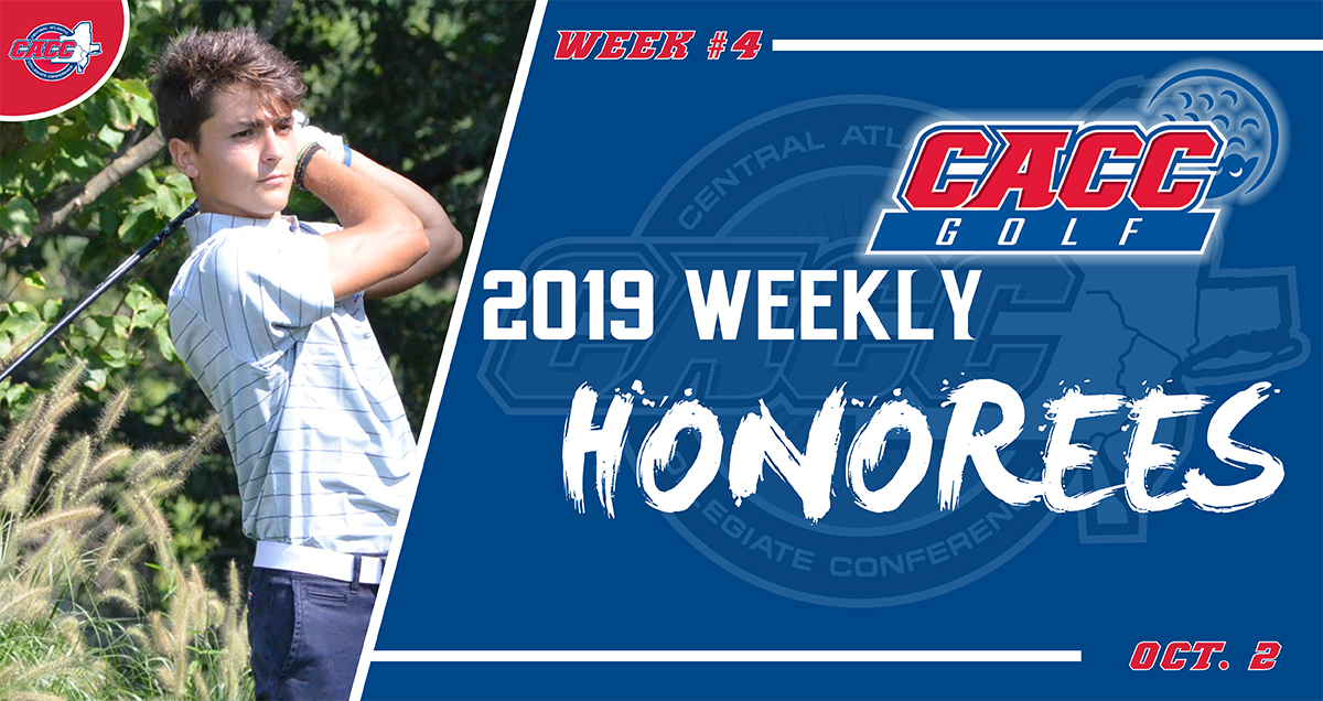 CACC Men's Golf Weekly Honorees (Oct. 2)
