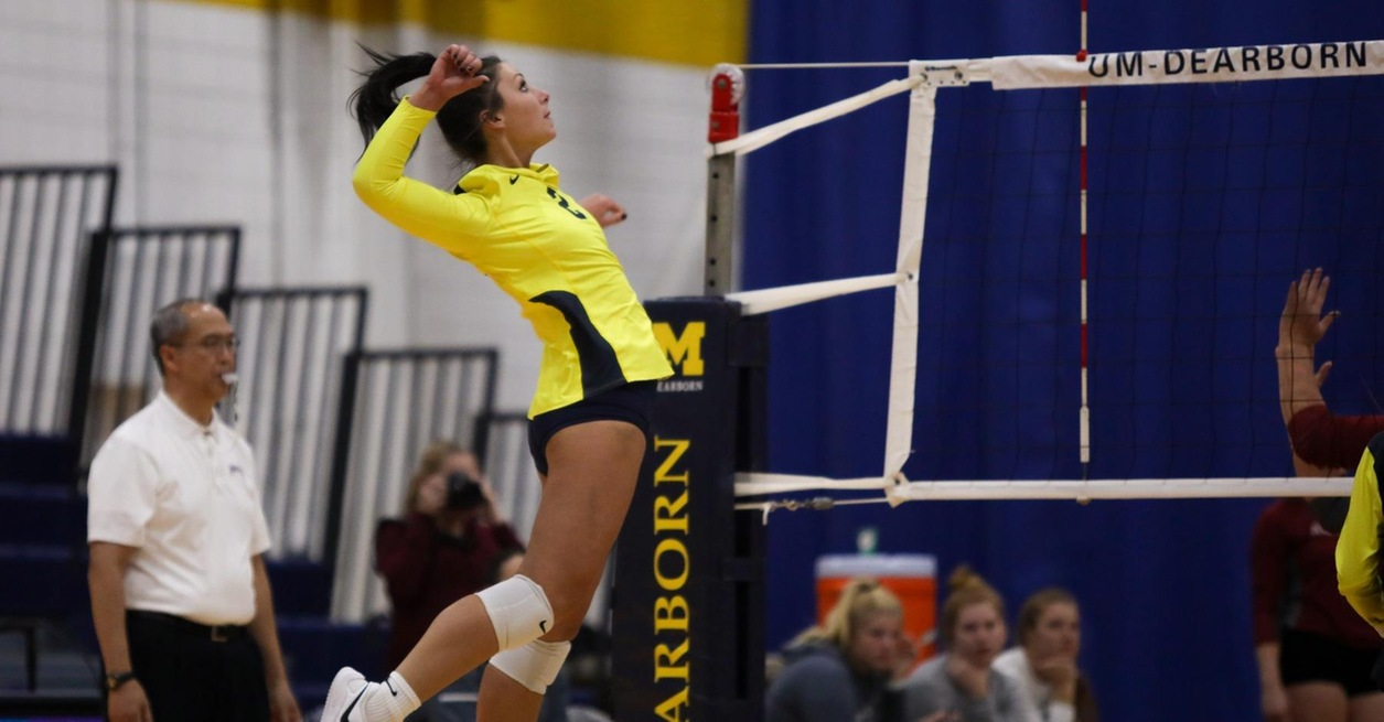 Saints sweep Wolverines in WHAC match