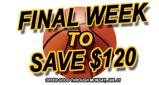 Fans - Last chance to get OVC Tourney tickets at deepest discount