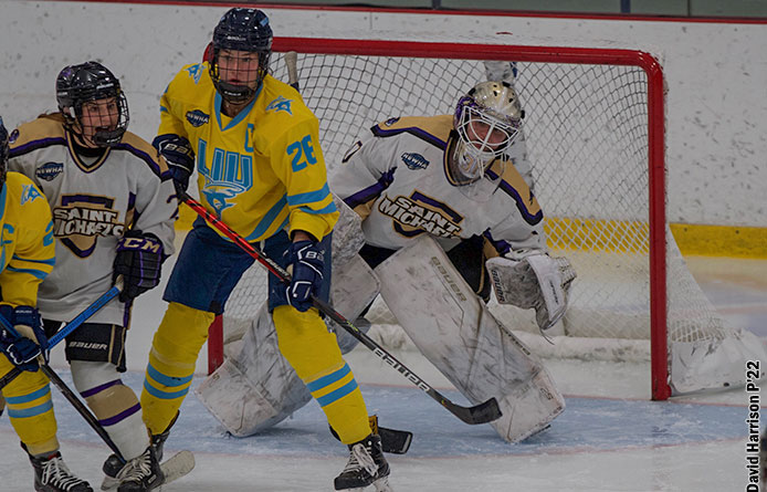 Women's Ice Hockey Finishes Weekend Series With Loss to Saint Anselm