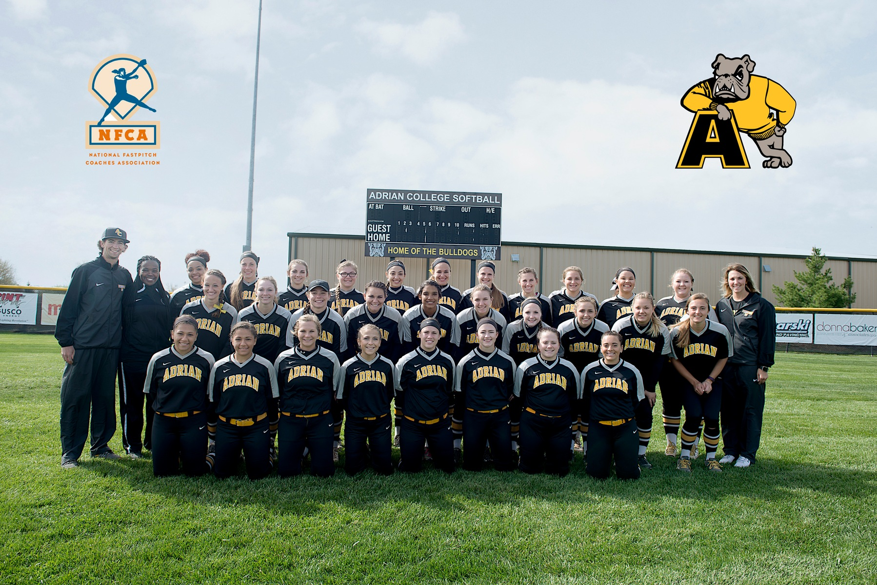 Eighteen Adrian College Softball Players Earn NFCA All-Academic Honors