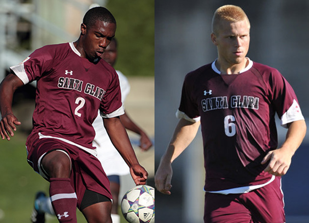 SCU Teammates Mykell Bates and Brandon Zimmerman Selected in MLS Draft