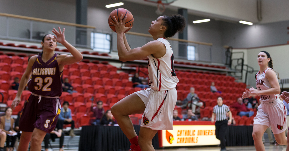 Women's Basketball Defeats Drew in Conference Opener, 68-49