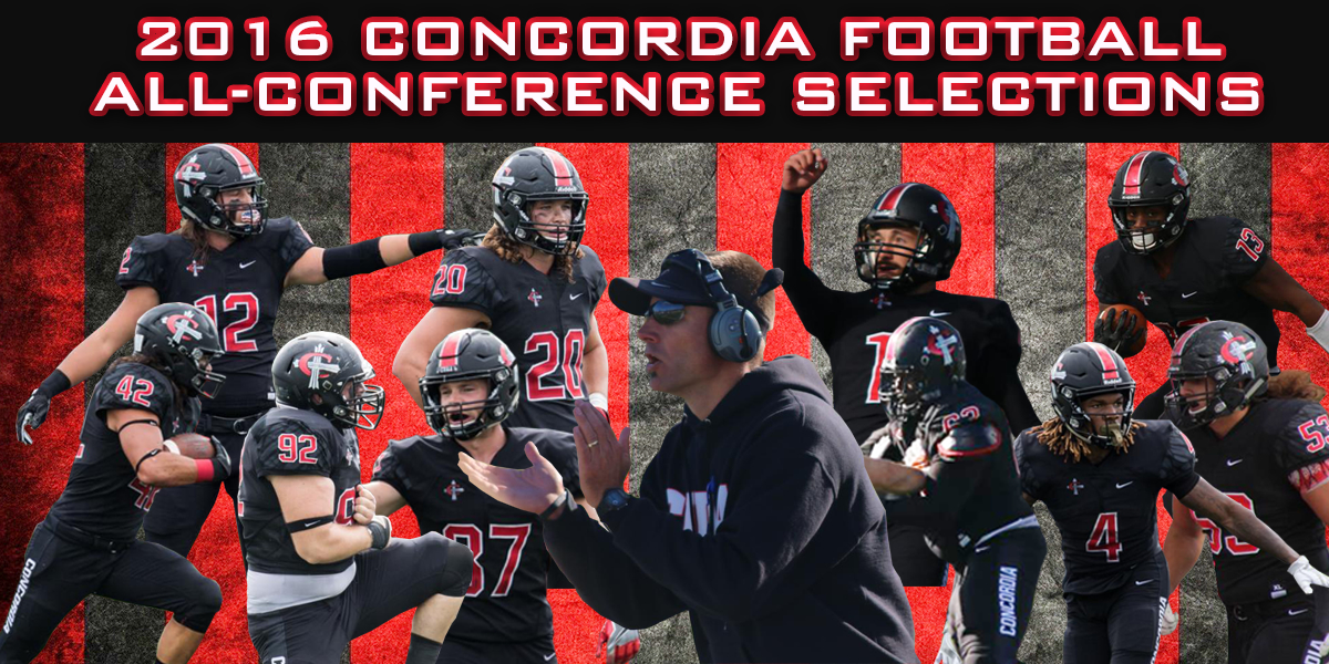 Following a 7-4 season, 10 Cardinals and Coach Pries received All-Conference honors