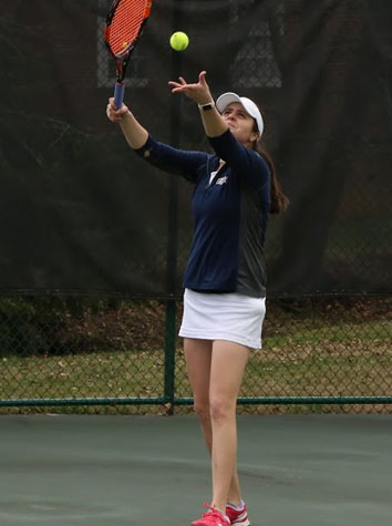 The Emory & Henry Women's Tennis Team Shuts Out Greensboro, 9-0, As The Men Win, 5-4, Sunday Afternoon