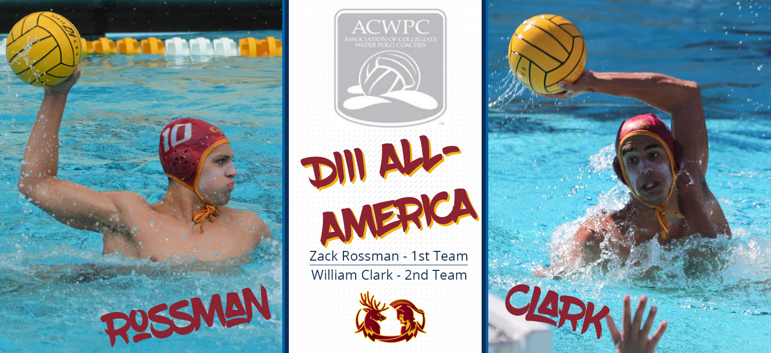 Zack Rossman Earns First-Team Division III All-America Honors, William Clark Named to Second Team