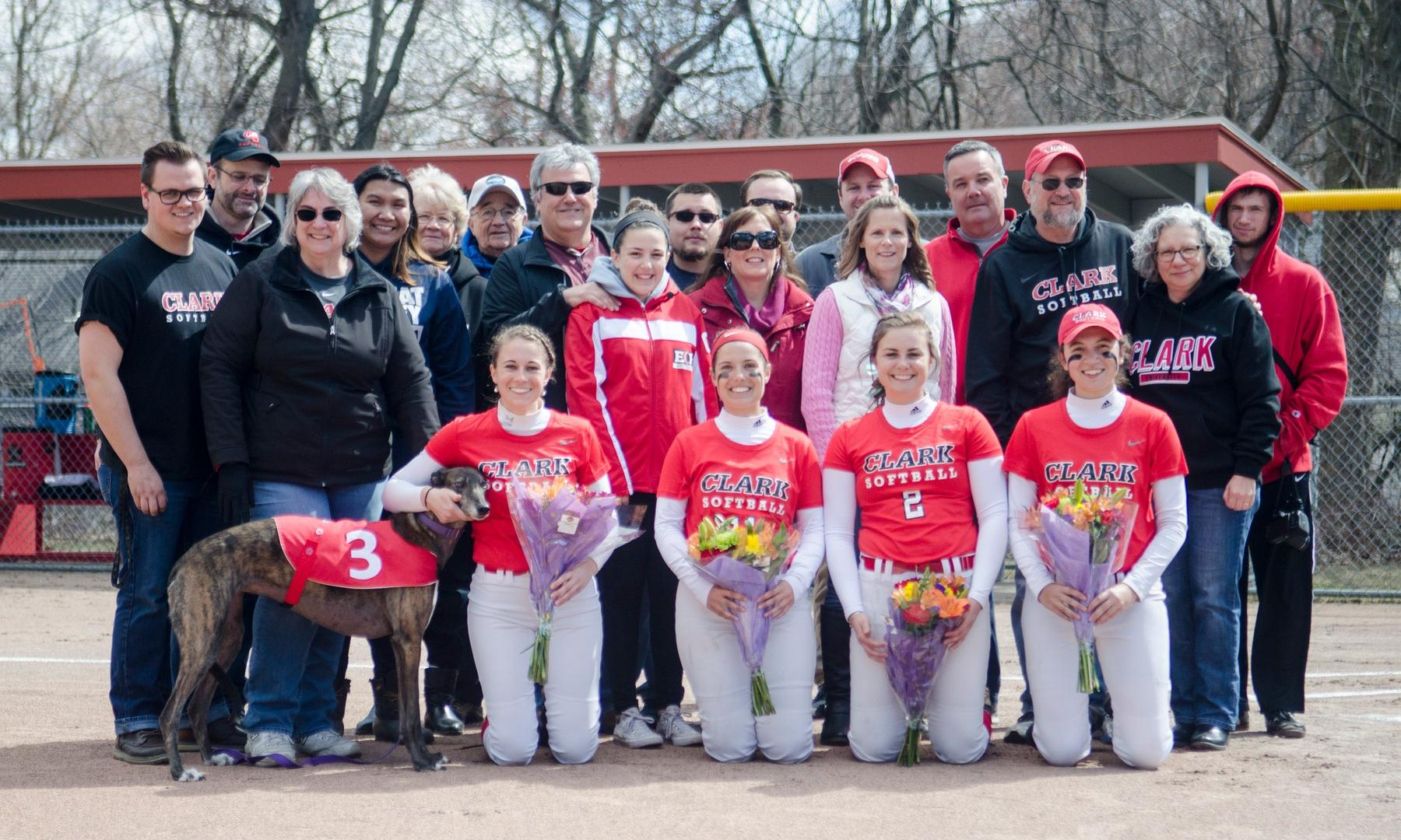 Cougars Shut Out Emerson in Game Two on Senior Day