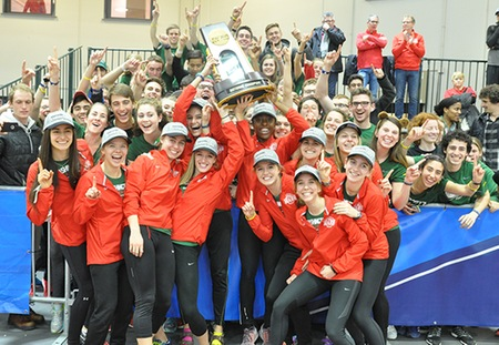 Washington University Women Crowned NCAA Indoor Track and Field Champions