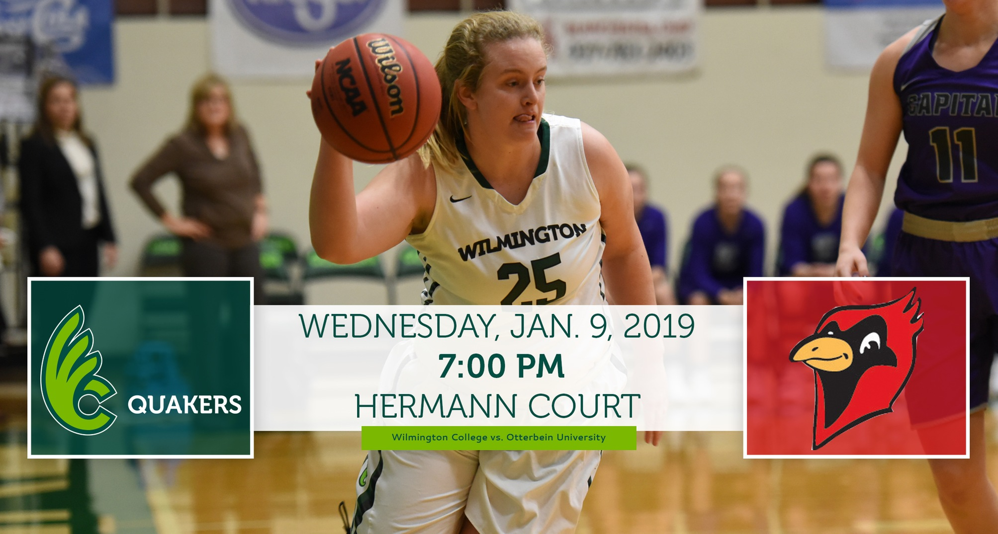 Women's Basketball Hosts Otterbein in OAC Basketball Game of the Week Wednesday