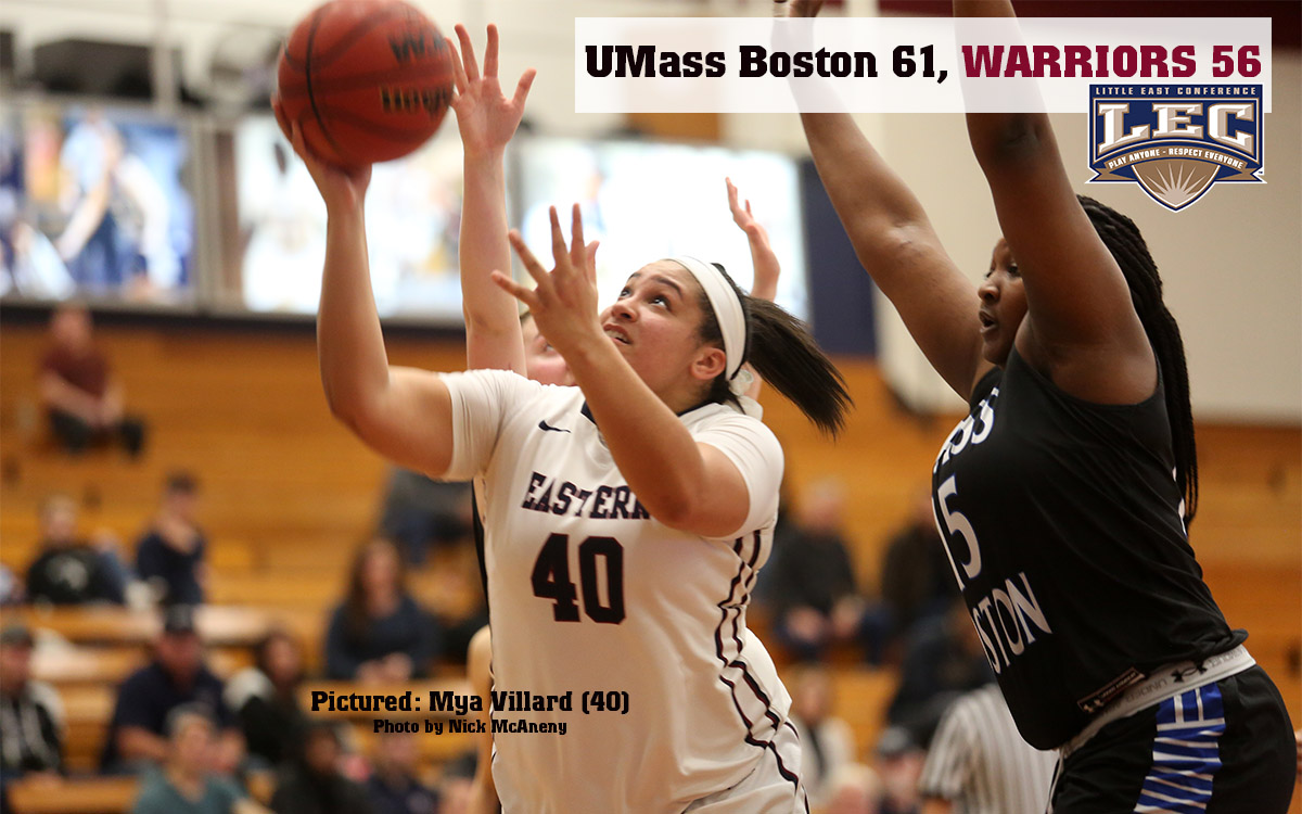 Women's Basketball: Warriors Charge Back from 14 Points Down in Close Little East Loss