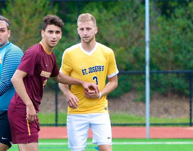 Johnson Powers Men's Soccer to First Win of the Season